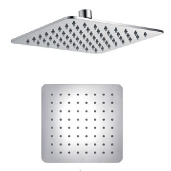 Shower Head Square Stainless Steel