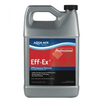 Efflorescence Remover Inhibiting Solution